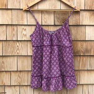 American Eagle Purple Tank Top - EUC!